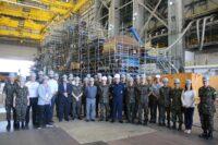 Visita ao projeto do Submarino Nuclear Brasileiro