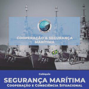 Palestra no Colóquio de Segurança Marítima da Escola de Guerra Naval