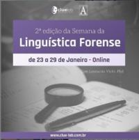 2ª Semana da Linguística Forense