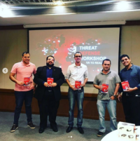 Premiação no Hackaton Threat Defense Workshop
